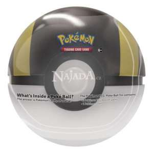 Pokémon - 2020 Pokéball Tin - Gold - NM