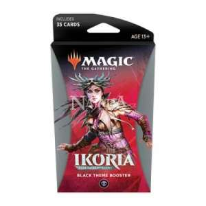 Ikoria: Lair of Behemoths Theme Booster - Black - NM