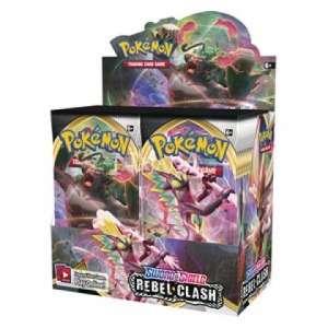 Pokémon - Sword & Shield Rebel Clash Booster Box - NM
