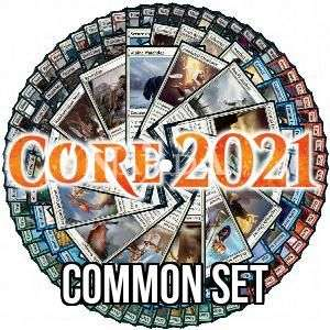 Core 2021 Common Set - NM