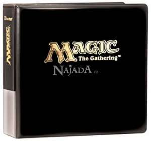 Ultra Pro album 3 - kroužkové Magic logo černé  - NM