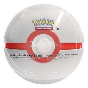 Pokémon - 2020 Pokéball Tin - White - NM