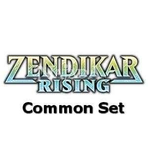 Zendikar Rising - Common set - NM