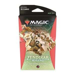 Zendikar Rising - Theme Booster - Červená - NM
