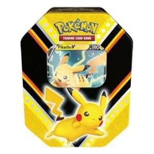 V Powers Tins: Pikachu V Tin - NM