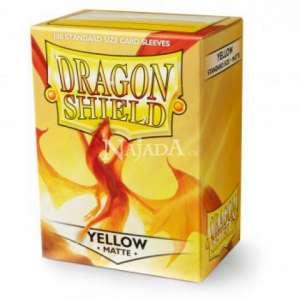 Dragon Shield 100ks - Matte Yellow - NM