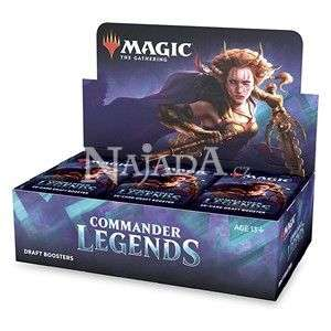 Commander Legends - Draft Booster Box - NM