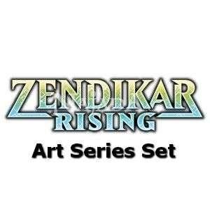Zendikar Rising - Art Series Set  - NM