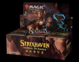 Strixhaven: School of Mages Draft Booster Box - NM