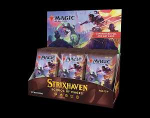Strixhaven: School of Mages Set Booster Box - NM